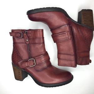 Earth Womens Montana Merlot Red Boot 6.5